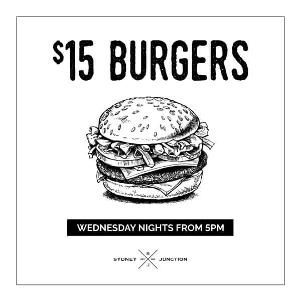 $15 Burgers